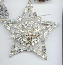 SALE even Bigger  Rhinestone Star