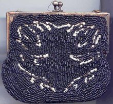 SALE Beaded Purse
