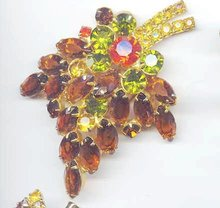 SALE Magnificent gigantic Rhinestone Pin