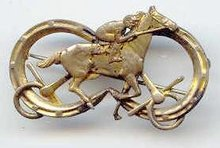 SALE Beautiful Horse Pin Vintage