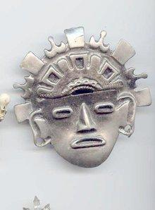 SALE large Mask pin