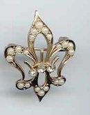 SALE Fleur de Lee Pin or Pendant