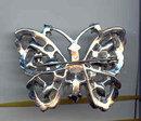 SALE Rhinestone Butterfly Pin
