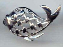 SALE Trifari Whale Pin