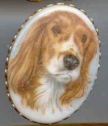 SALE What a cute Dog Pin
