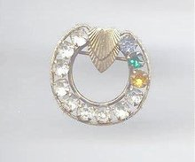 SALE Fancy Circle Pin