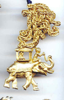 SALE Lisner Elephant Pendant and Chain