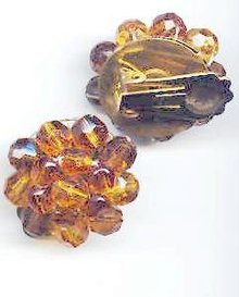 SALE Topaz color Earrings