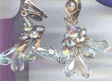 SALE Vintage Chandelier Earrings