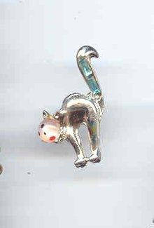 SALE Cat Pin