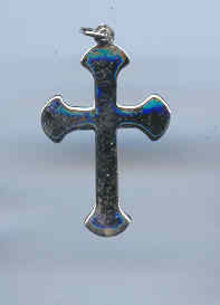 SALE Sterling Cross Pendant