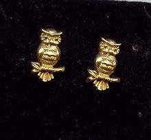 SALE Owl Earring Adorable
