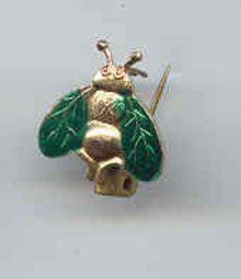 SALE Vintage Tiny Bee or Fly Pin