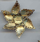 SALE CoroCraft Vintage Enameled Star  Pin,