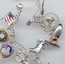 SALE Charm Bracelet.12 Charms