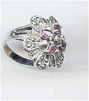 SALE Elegant and Dazzling amethyst and