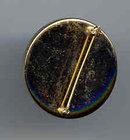 SALE Round Stone Pin