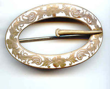 Enameled Belt Buckle