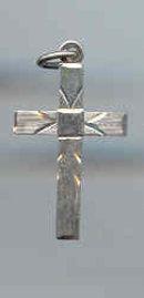 SALE Sterling silver Cross