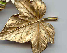 SALE Lovely Trifari Leaf Pin