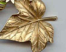 SALE Lovely Trifari Leaf Pin