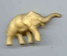 SALE Elephant hard Plastic  vintage