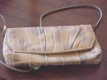 SALE Real Snakeskin  Purse by Jasmin