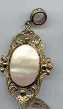 SALE Beautiful Pendant  Signed Whiting -Davis