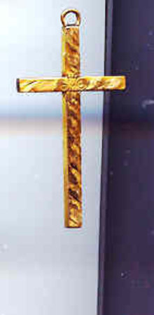 SALE Majestic12kt Gold plated Cross Marked 925