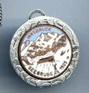 SALE unusual  Vintage German War Pendant   1905