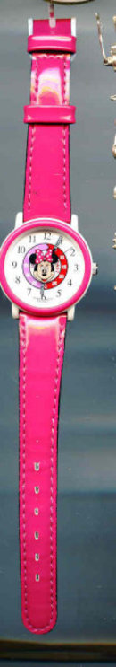 SALE Minny Mouse Watch   Pink