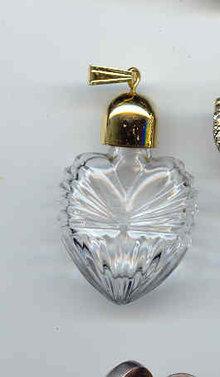 SALE Perfume Bottle Pendant