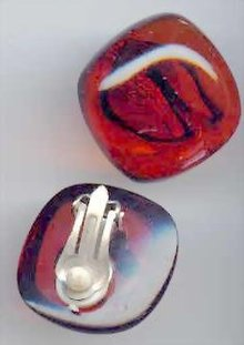 SALE Bakelite Earrings