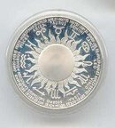 SALE Aquarius Sterling Silver Coin