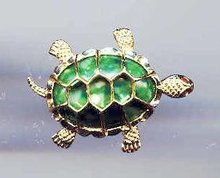 SALE A set of 2 Gerry's Turtle Pin