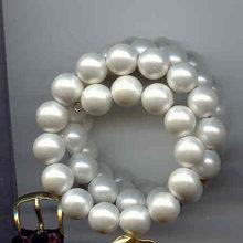 Simulated Pearl Bracelet wraparound