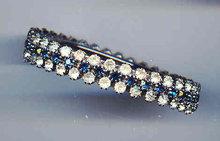 2 layer Rhinestone Bracelet