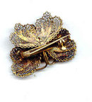 Filigree Butterfly with gold wash  vintage