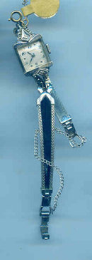 14kt white Gold Watch and Diamonds