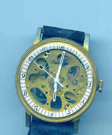 Skeleton Watch Vintage