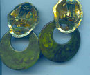 Kenneth Lane Bakelite Earrings