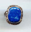 Old Marcasite and Lapis ring
