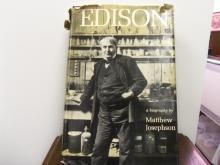 Thomas Edison by Matthew Josephson
