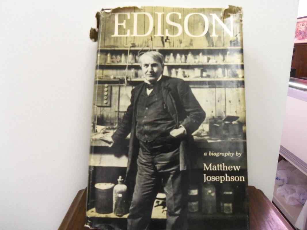 Thomas Edison by Matthew Josephson
