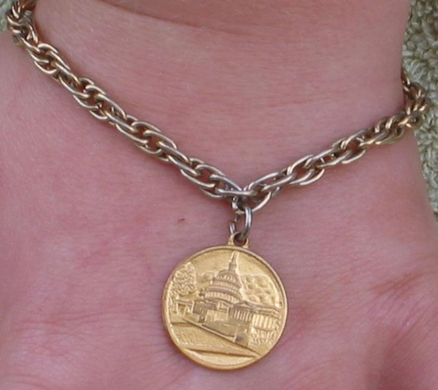 US Capital Charm Bracelet