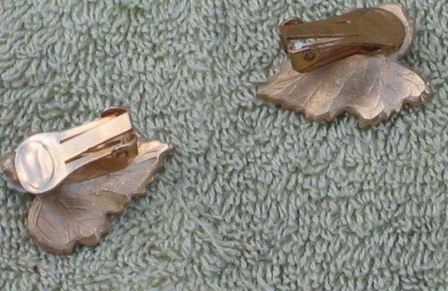 Leaf Necklace Earring Set
