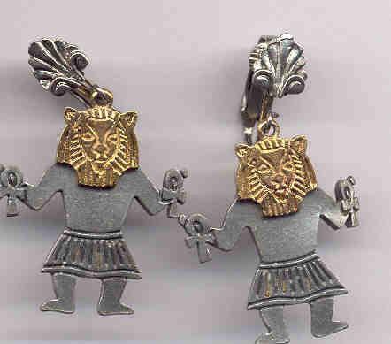 Egyptian Medeival Earrings