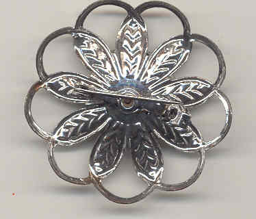 Snowflake Brooch Flower Pin