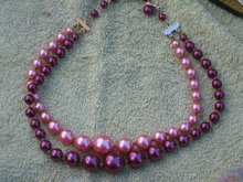 Double Bead Jewelry Necklace