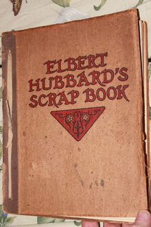 Roycrafters Elbert Hussards Scrapbook 1923 Arts & craft